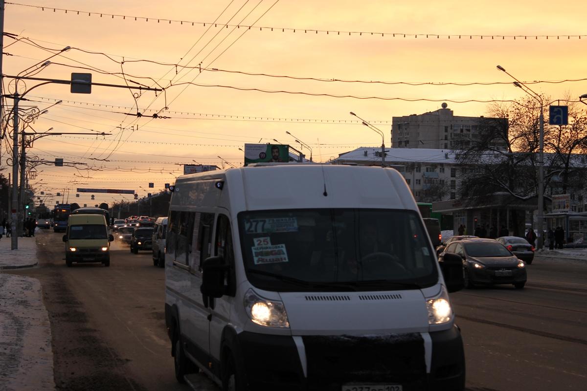 Уфимские водители грозятся поднять стоимость проезда в маршрутках