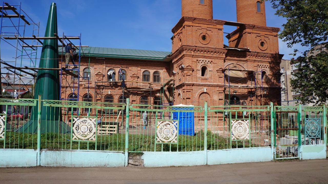Спустя 100 лет в Уфе начали восстанавливать Хакимовскую мечеть