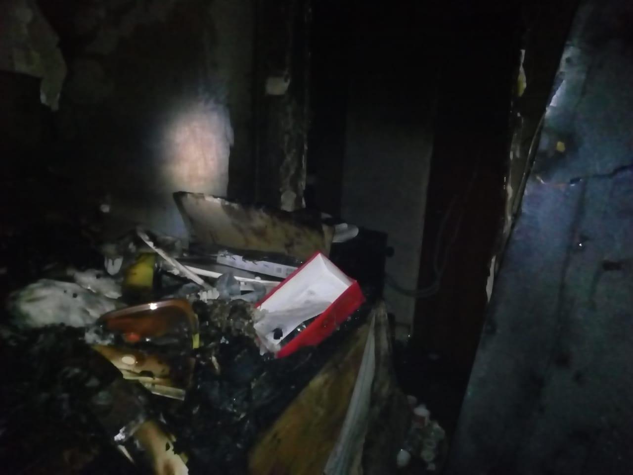 В Уфе из горящего дома эвакуировали жильцов