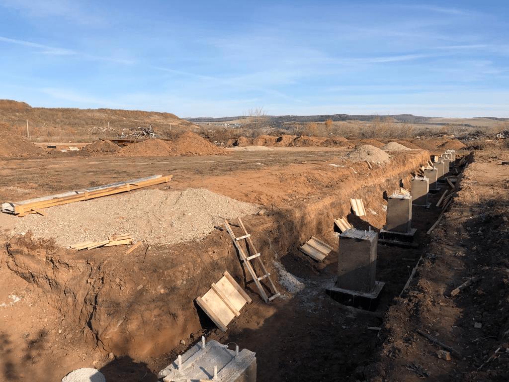 В Башкирии на полигоне ТКО возводят новый мусоросортировочный комплекс