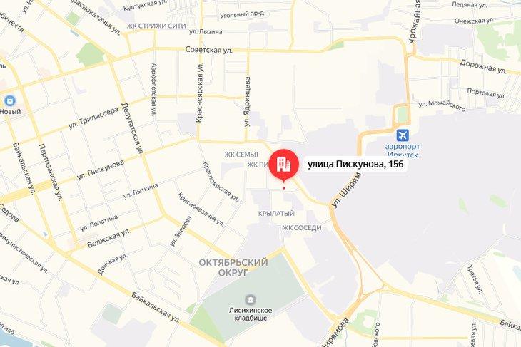 Проезд по улице Пискунова в Иркутке ограничат с 26 ноября