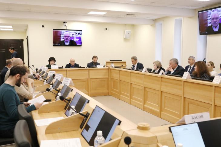 Областные парламентарии обсудили законопроекты о развитии инвестиционной деятельности