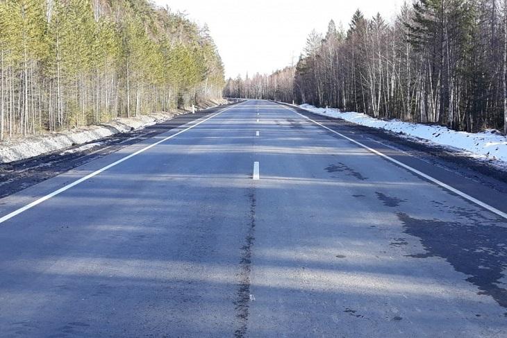 Минстрой оштрафовал подрядчика на семь миллионов рублей за дефекты в ремонте Голоустненского тракта