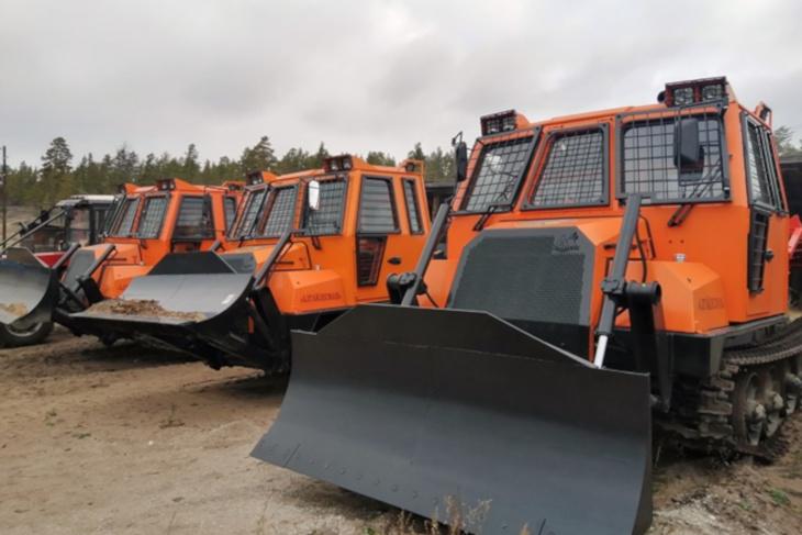 В Иркутскую область поступит 56единиц новой лесопожарной техники