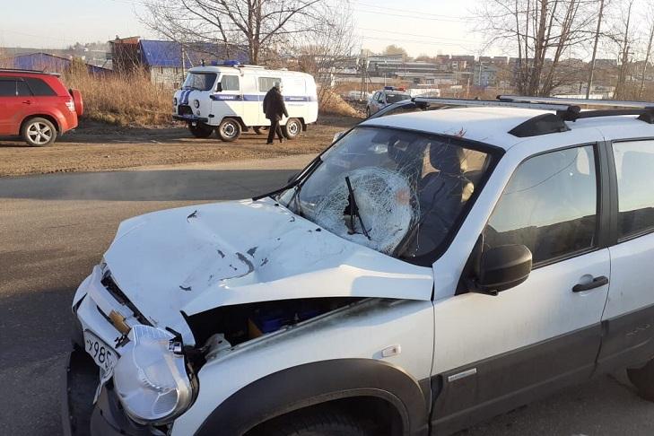 Пешеход погиб на объездной дороге в микрорайоне Солнечный