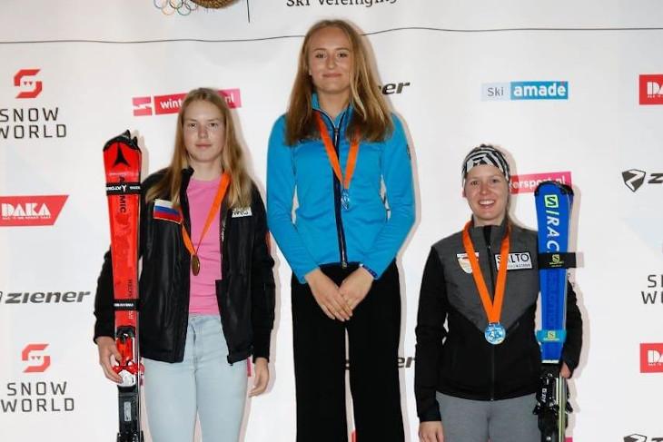 Горнолыжница Варвара Ворончихина завоевала серебро на этапе Кубка Европы