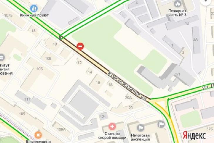 «Яндекс.Карты» покажут ограничения проезда из-за ремонта теплосетей в Иркутске
