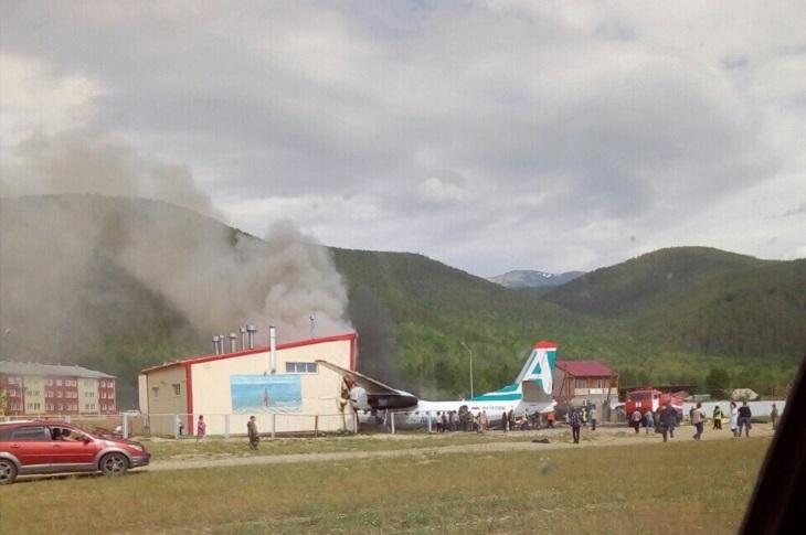В Нижнеангарске снесут сооружения, в которые врезался АН-24