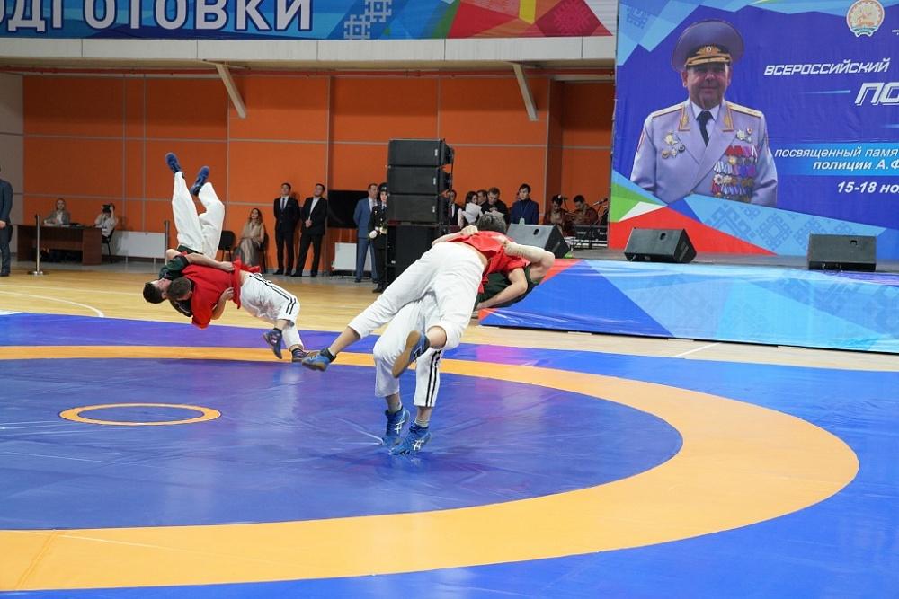 В Уфе сегодня открылся Всероссийский турнир по национальной борьбе