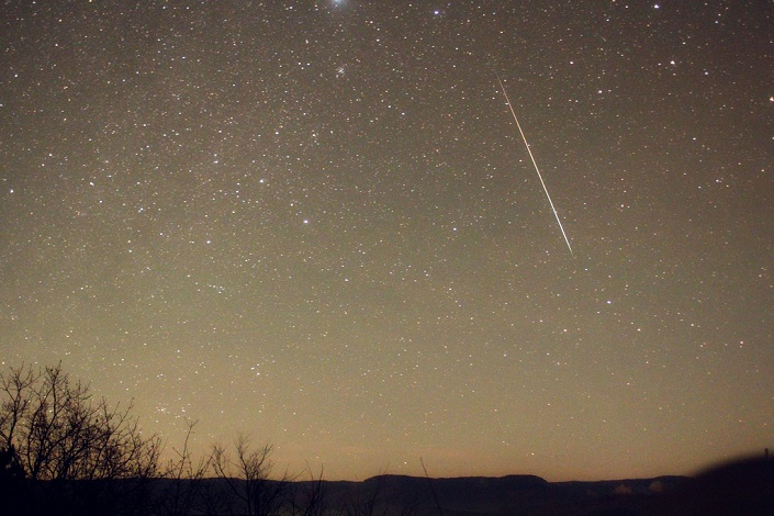 Наблюдения метеорного потока Леониды состоятся в Мамонах 19ноября