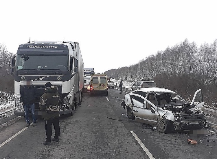 В ГИБДД Башкирии прокомментировали массовую аварию на трассе Уфа – Самара – Челябинск