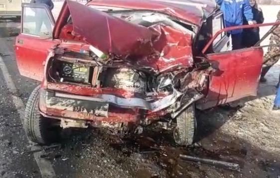 На трассе Москва – Уфа в столкновении с Niva погиб водитель «Жигулей»