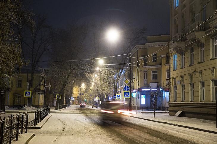 До -14 градусов ожидается в Иркутске в выходные