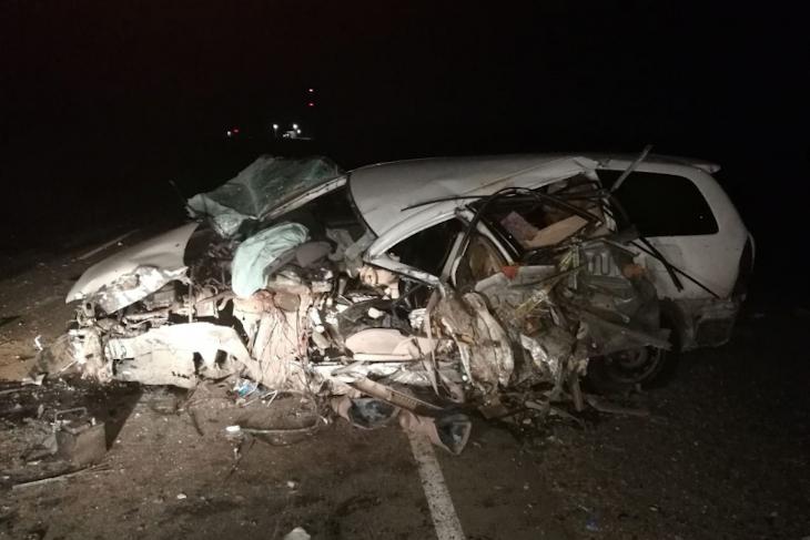 В Куйтунском районе при столкновении автомобилей погибла женщина и пострадал ее сын