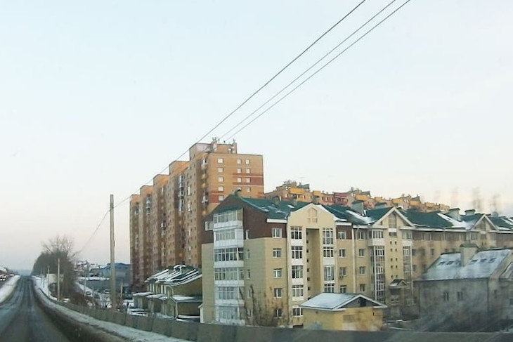 В микрорайоне Солнечный отключили электричество