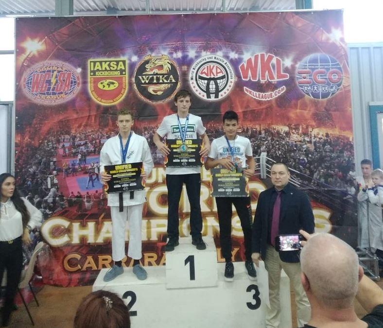 Житель Башкирии занял второе место на Чемпионате мира по смешанным единоборствам в Италии