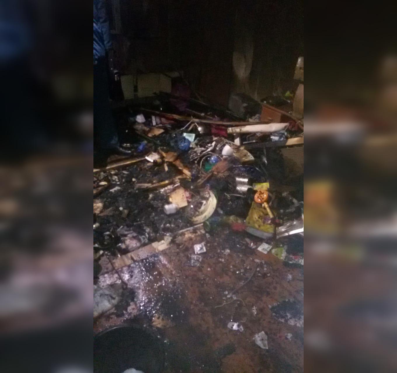 В Уфе при пожаре в подъезде дома погиб мужчина