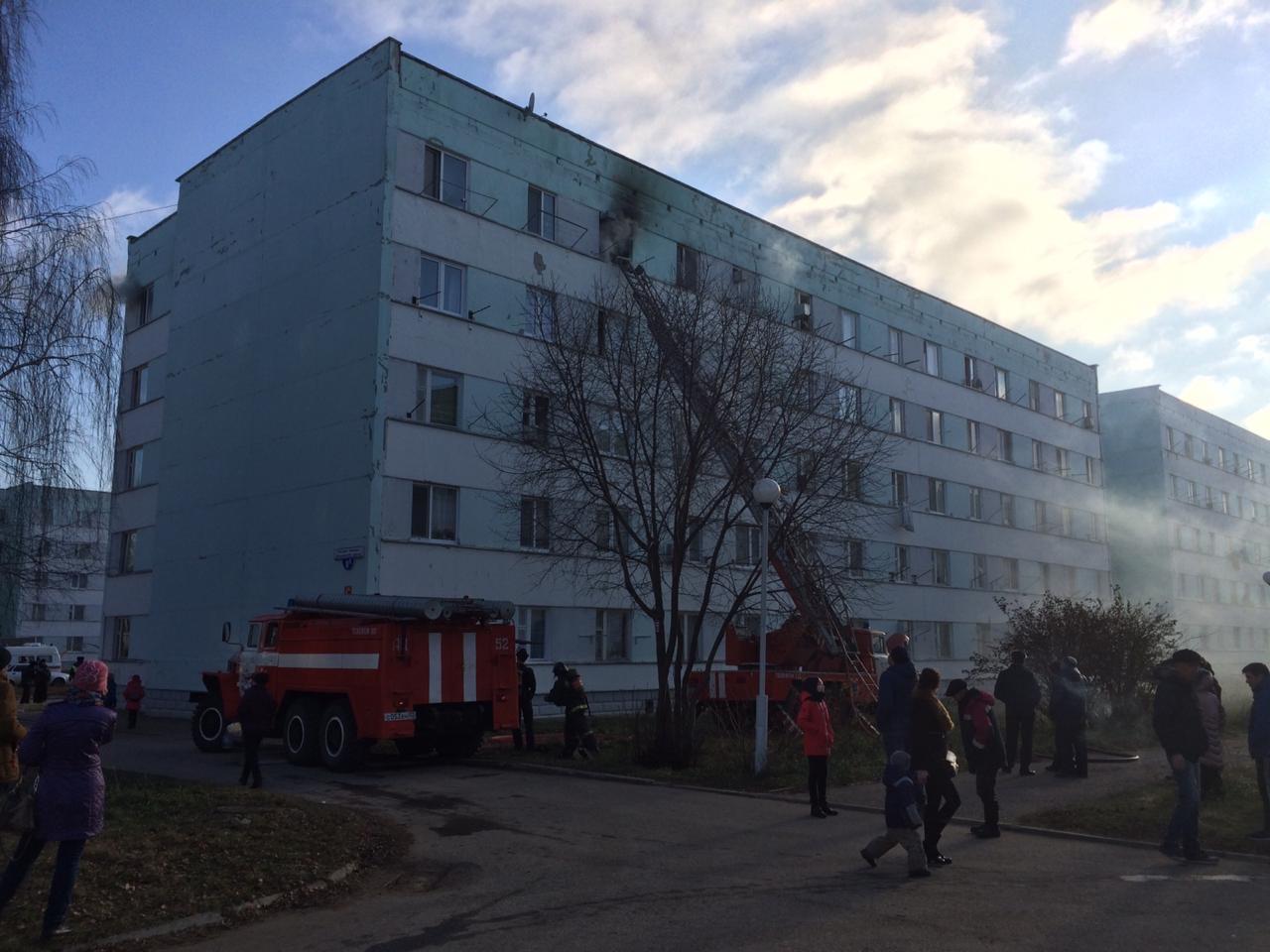 В Башкирии из горящей пятиэтажки эвакуировали 30 человек