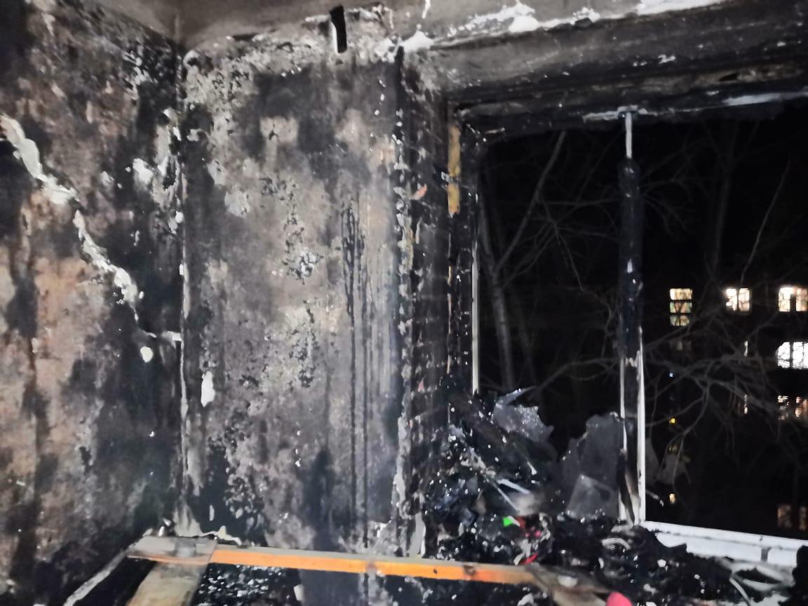 В Башкирии в пожаре погибла женщина