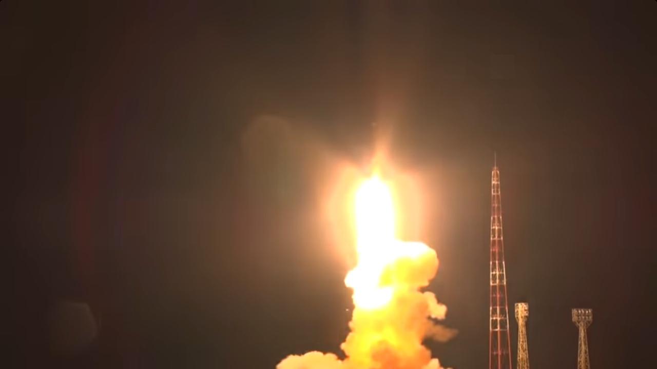 РВСН опубликовали видео запуска ракеты, которая перепугала жителей Башкирии