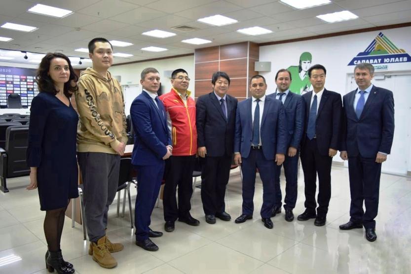 Уфа и китайский город Тяньцзинь будут сотрудничать в сфере физической культуры и спорта