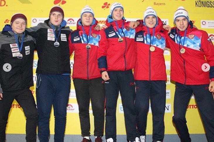 Шесть медалей выиграли братские саночники на этапах Кубка мира