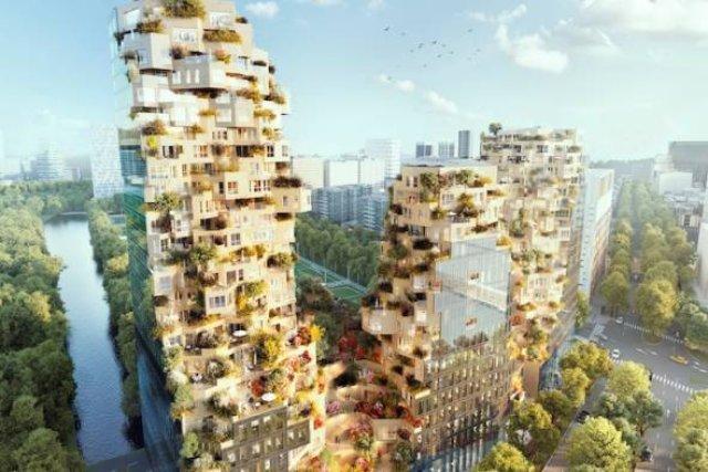 В Амстердаме строят «сказочный» небоскреб