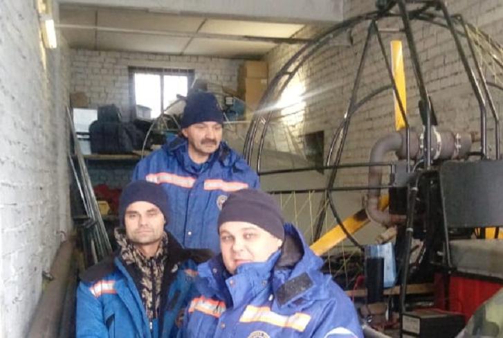 На Иркутском водохранилище спасли водителя провалившегося под лёд квадроцикла