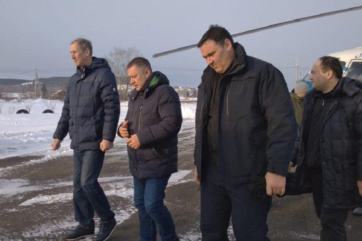 Врио губернатора Игорь Кобзев отправился в Тулун и Нижнеудинск