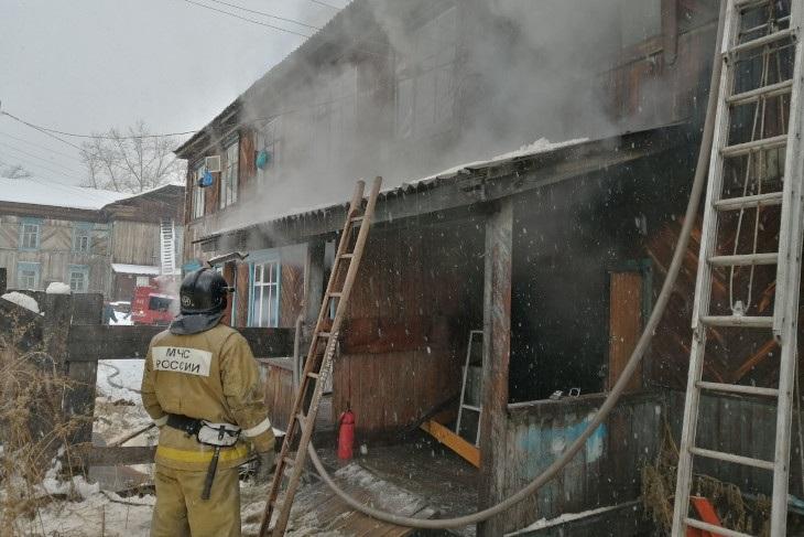 Общежитие педагогического колледжа загорелось в Бохане 9декабря