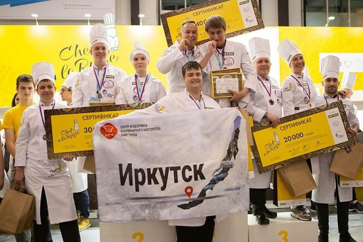 Иркутян приглашают на ужин от победителей Chef A La Russe в Санкт-Петербурге