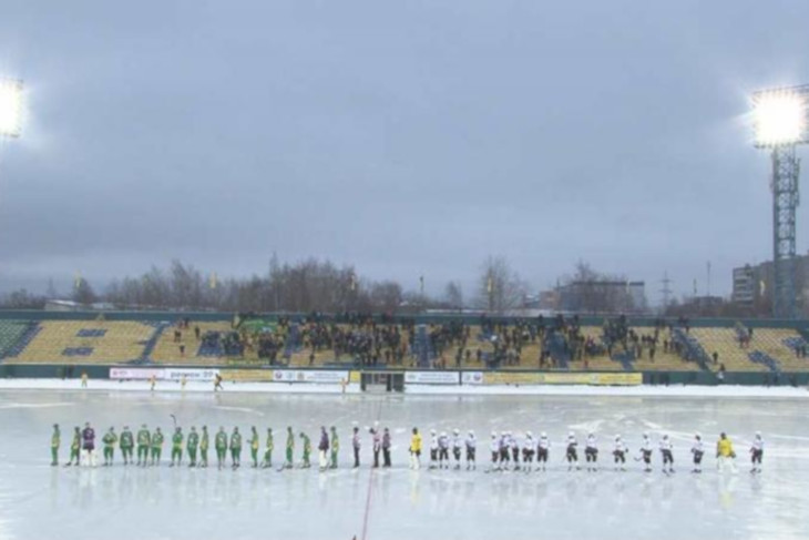 «Байкал-Энергия» проиграла архангельскому «Воднику» в матче чемпионата России