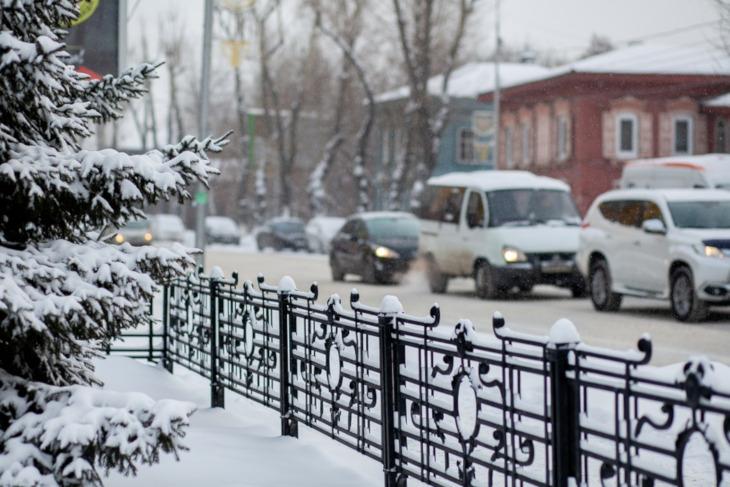 Небольшой снег ожидается в Иркутске 9 декабря