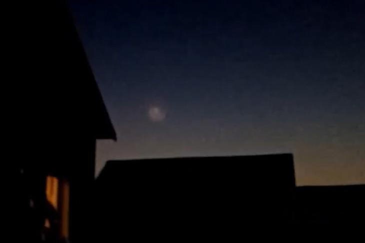 Братчане приняли за НЛО полет космической ракеты