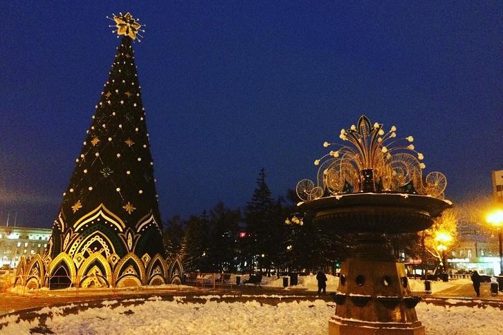 Открытие главной ёлки Иркутска состоится 21 декабря