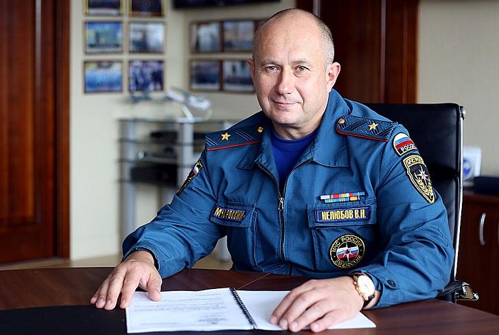 Валентина Нелюбова назначили врио начальника Главного управления пожарной охраны