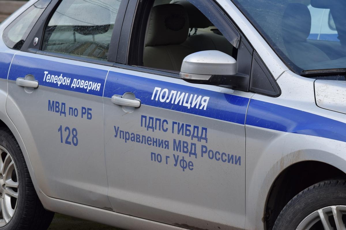 В Уфе водитель без прав сбил пожилого человека и скрылся с места ДТП