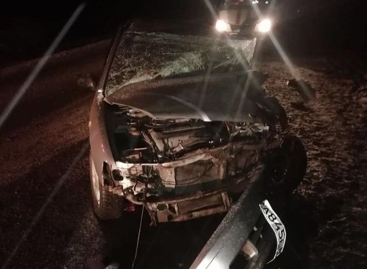 В Башкирии в аварии пострадал грудной ребенок