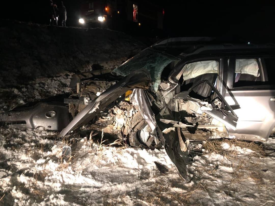 В больнице скончался водитель иномарки, попавший в лобовое столкновение