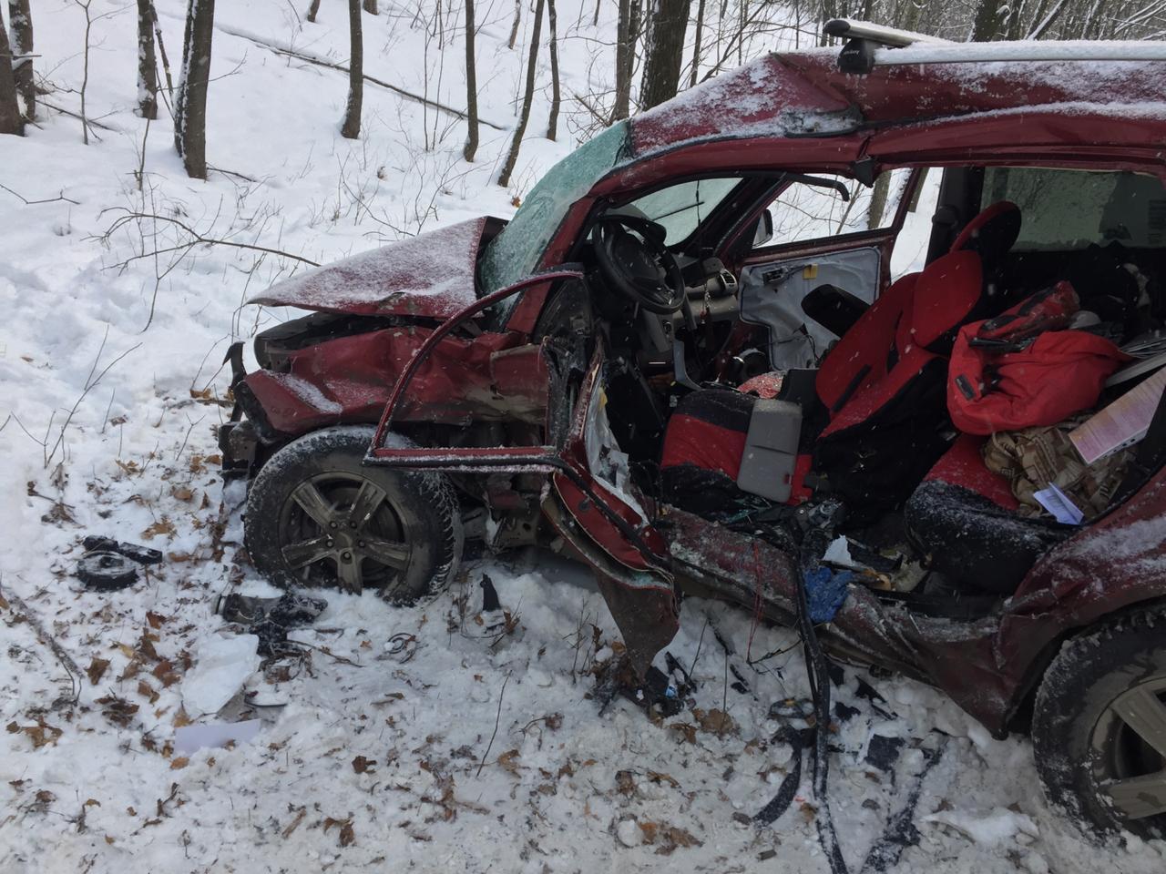 В Уфе скончался водитель иномарки, столкнувшейся с автобусом