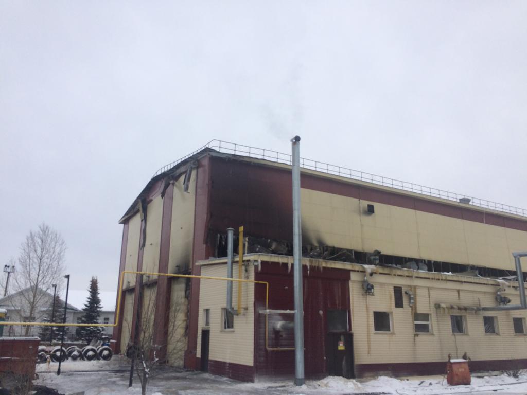 В Уфе по пожару в депо возбуждено уголовное дело