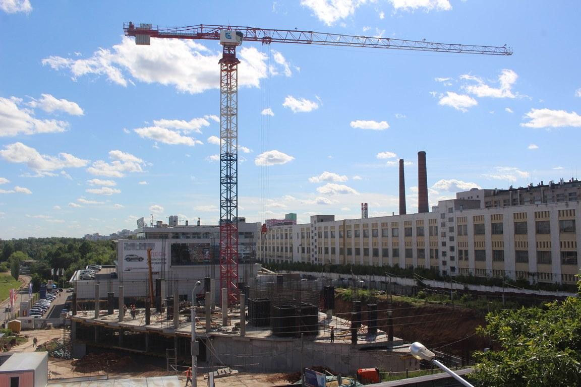 Застройщик рассказал подробности строительства нового ТЦ с башней в Уфе